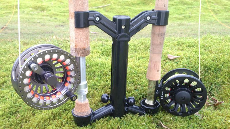 Stonefly Rod Caddie fly rod stand review