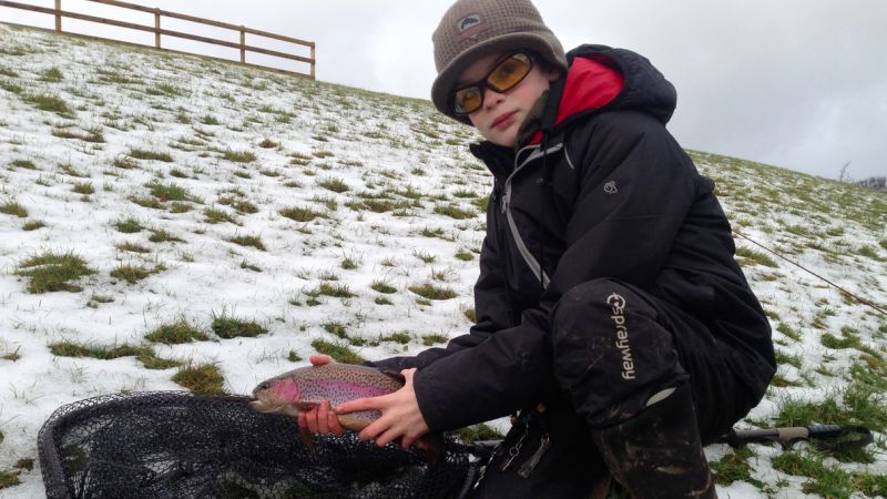 Fly fishing diary: January 2017