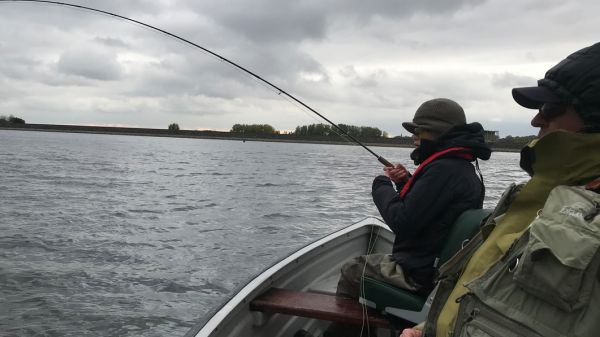 How to fish the Humongous fly pattern for reservoir trout