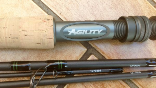 Shakespeare Agility fly rod review