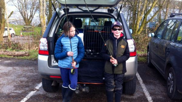 North Wales family fly fishing adventures